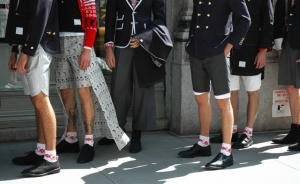 thom browne leather shoes for men