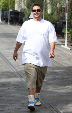 Menswear for Big Men kevin federline