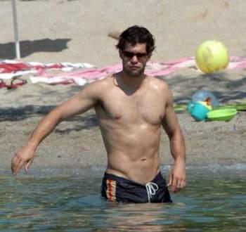michael ballack shirtless beach shorts