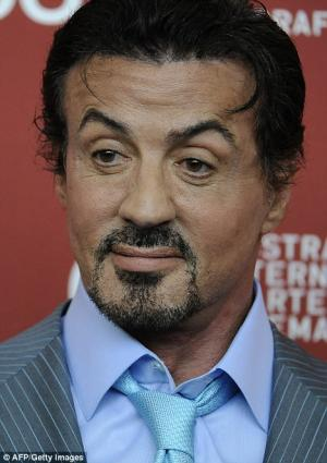 botox for men sylvester stallone