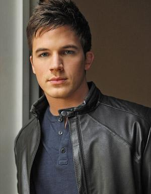 sexy mens leather jacket - matt lanter
