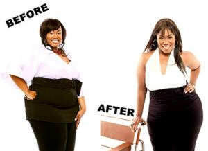 mandisa weight loss before and after