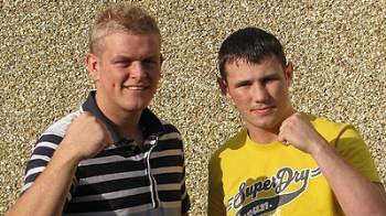Daniel Lerwell and James Lilley mma fighters