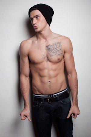 adam gregory shirtless