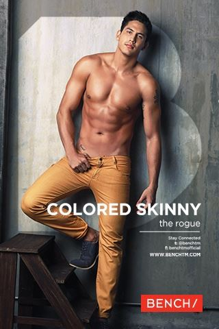asian jeans brand for men - bench denim jeans - colored