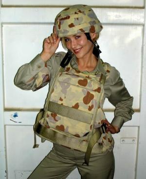 hot girls in military uniform bessie bardot