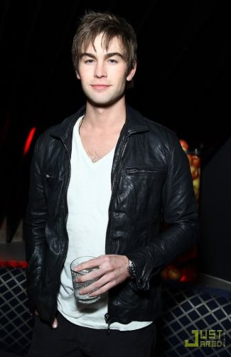 chace crawford leather jacket style watch