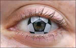 football contact lens