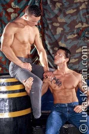 gay men in jeans male models