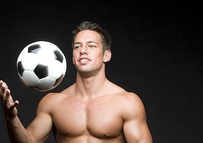 johnny castle soccer or football college player