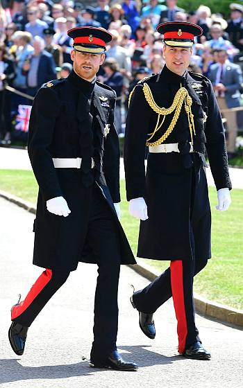 prince harry military wedding uniform