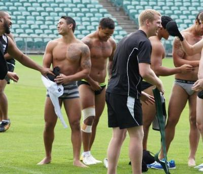 rugby is so gay - players underwear