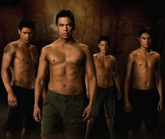 shirtless wolf pack