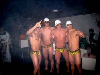 Hockey hunk underwear speedo - From Left - Christopher Higgins Mike Komisarek Carey Price and Josh Gorges