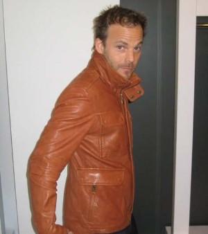 mackage leather jacket for men - mackage xavier for stephen dorff
