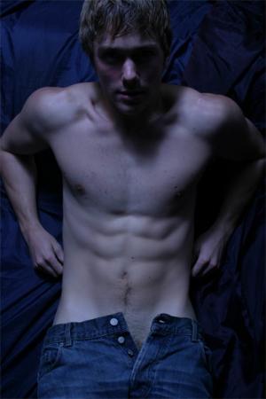 mens jeans unzipped - steve sandvoss