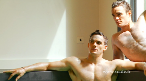 thom and max evans shirtless dieux du stade