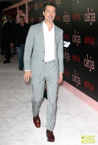 brad pitt suit style watch 2017 - Salvatore Ferragamo