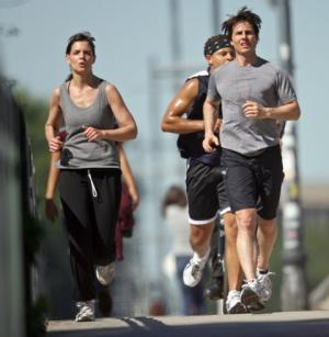 mens running shorts tom cruise celebrity workout