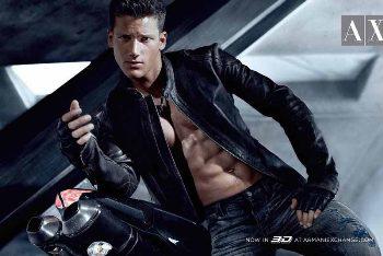 male models armani jeans for men