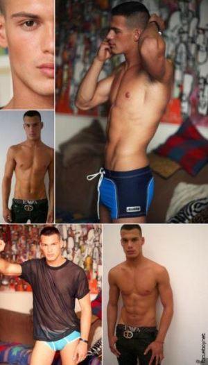 federico amoroso hot italian male model
