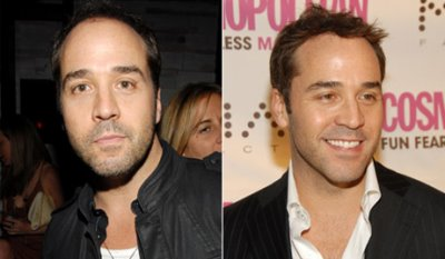 jeremy piven hair transplant then and now