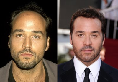 jeremy piven hair transplant or toupee