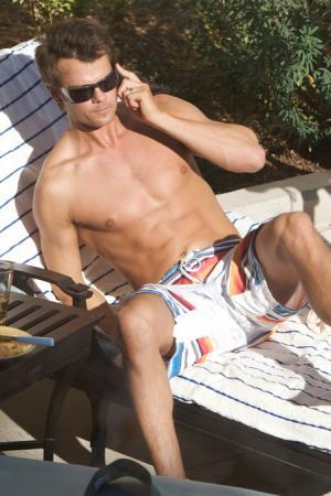 josh duhamel shirtless board shorts