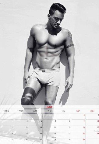 peter andre 2018 calendar underwear photos
