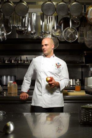 sam kass hot bald chef