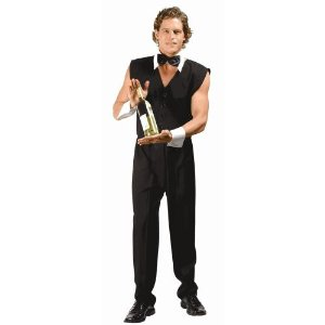 sexy male bartender costume