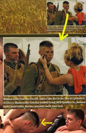 hot real marine guys in uniform david bradberry