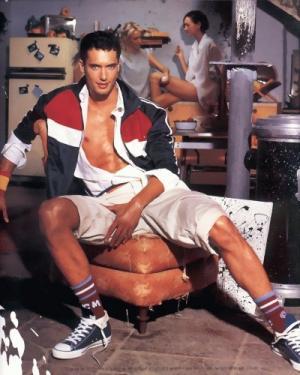 israeli male model tv host dudi balsar