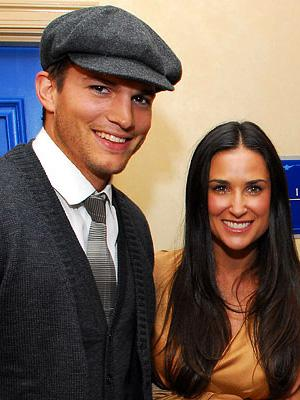 celebrities wearing newsboy hats - ashton kutcher