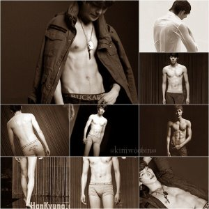 bae soo bin shirtless korean hunk