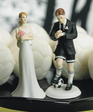 best wedding cake for soccer football player