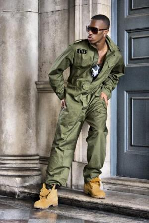 black mens coveralls - jamie foxx or will smith