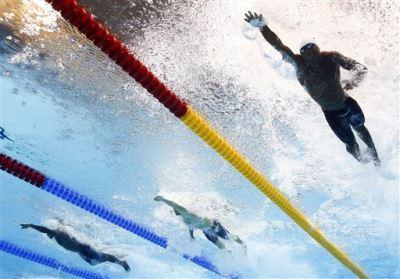 black male swimmers - olympics - Burkina Faso - Adama Ouedraogo