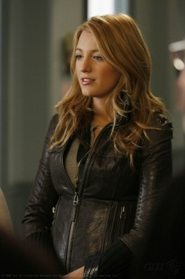celebrities wearing mackage leather jackets for girls blake lively