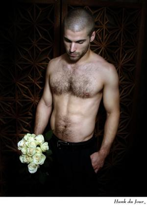 hot guys with hairy chests jonathan smith