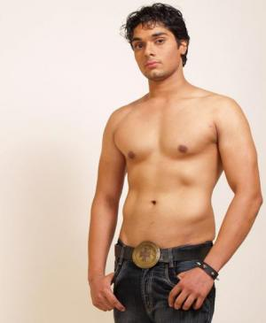 south asian male models shirtless in jeans