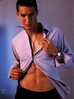 israeli male model dudi balsar shirtless