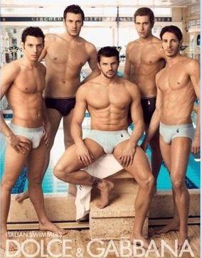 italian swimmers dolce gabbana