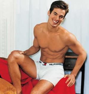 jason shaw - tommy hilfiger mens underwear model
