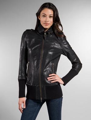 mackage leather jackets for girls