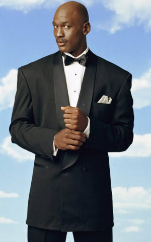 black men in tuxedo suits michael jordan
