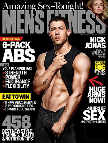 nick jonas abs
