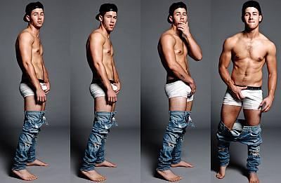 nick jonas calvin klein underwear