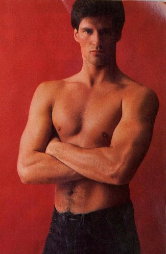 scott brown shirtless - cosmo mag june 1982 - americas sexiest