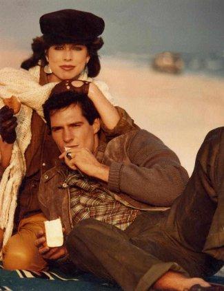 scott brown with model julianne phillips